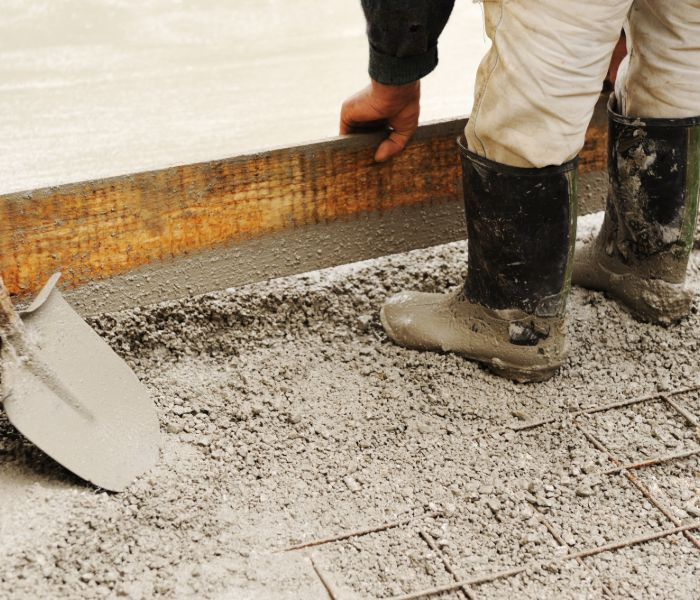 leveling slab foundation for repair in Grand Rapids